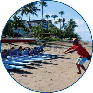 Learn to Surf at Outrageous Surf School on Maui